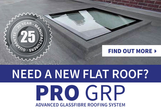 Need a new flat roof? ProGRP - Find out more