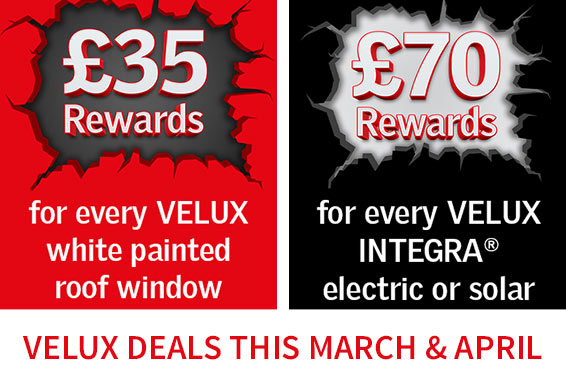 Velux Deals in March & April - Find out more